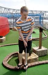 backyard(0.0), playground(0.0), grass(1.0), play(1.0), leisure(1.0), golf(1.0), miniature golf(1.0), lawn(1.0),