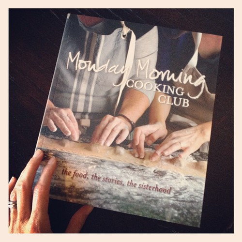 Kind of ridiculously excited about this new cookbook! #MondayMorningCookingClub so good to meet @MMCCchickie & crew