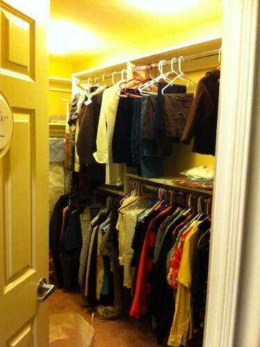Closet of crappy clothes