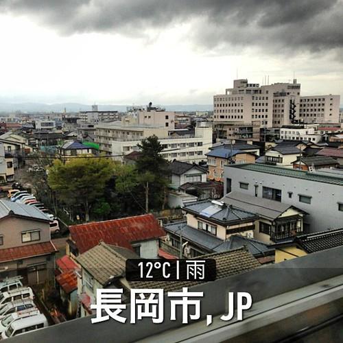 長岡はどんより曇り空… #weather #instaweather #instaweatherpro  #長岡市 #日本