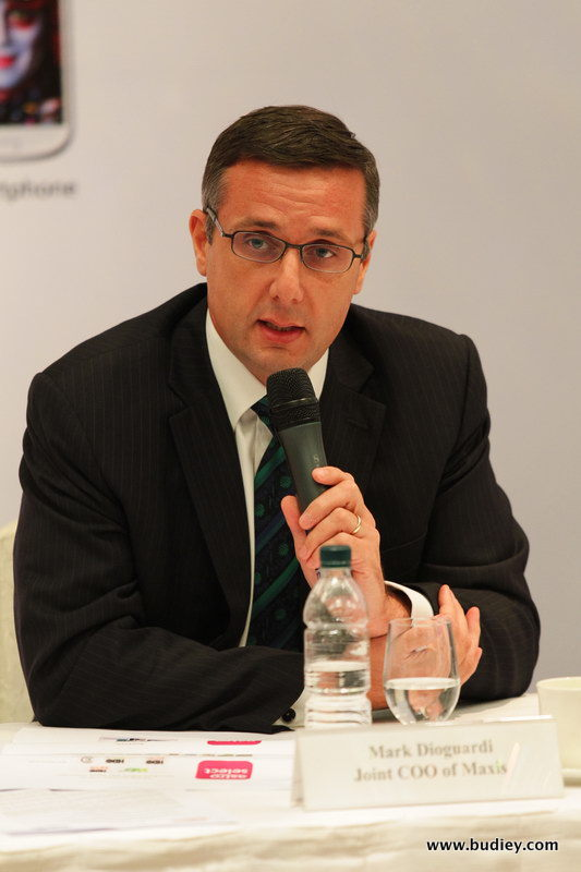 Mark Dioguardi, Joint Chief Operating Officer, Maxis Berhad