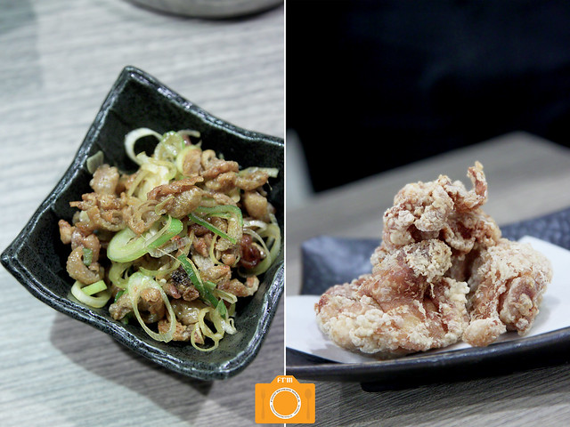 Mitsuyado Spicy Chicken Skin and Chicken Karaage