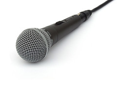 Photo: microphone