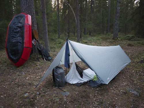 Packrafting & Camping