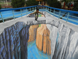 Grand Canyon - 3d Streetpainting