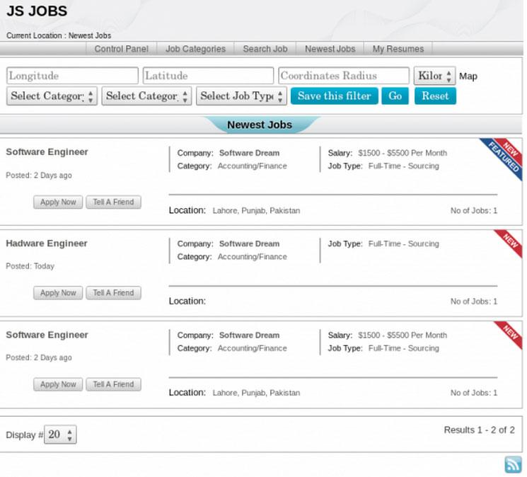 JS Jobs