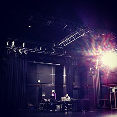 @djbigspace and @dplanet rehearsing #ctfx - Photo of Châteauvilain