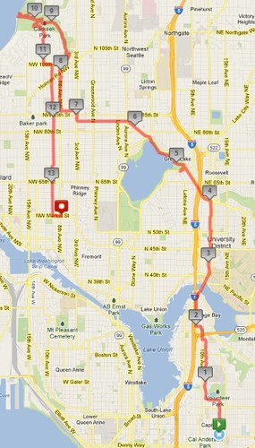 Today's awesome walk, 13.61 miles in 4:19 by christopher575