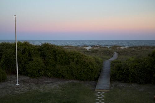 sunset beach night canon project dusk dunes dune southcarolina clear charleston boardwalk canon5d 365 iop isleofpalms mkiii markiii project365 threesixfive threesixtyfive