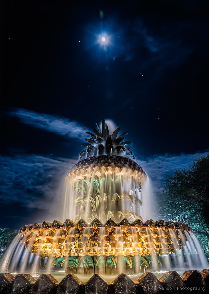 Pineapple Fountain, Charleston, S.C.