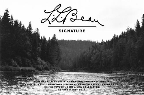 LLBean Signature