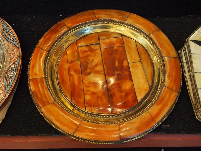 國家藝品店的裝飾盤