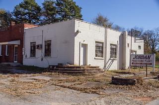 Old Jordan service station
