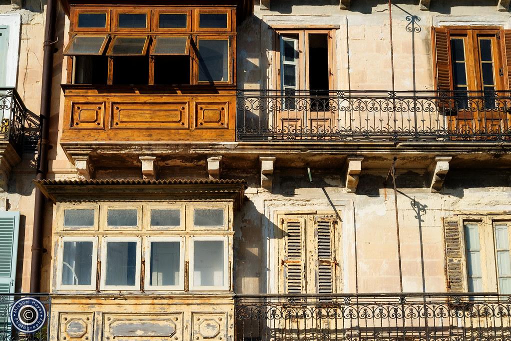 Valletta Balconies (2)