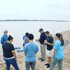Praying in Mukdahan along the Mekong #adventuresinthailand #prayingforfishersofmen