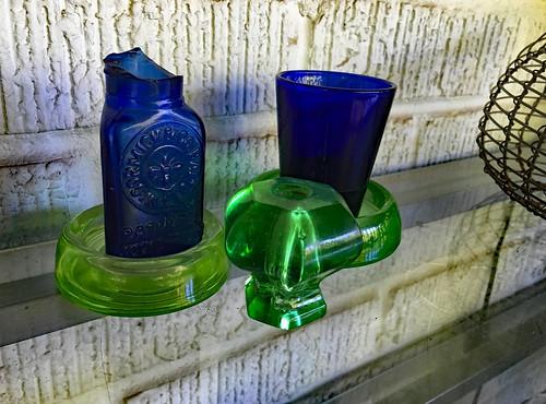Blue & Green Still Life