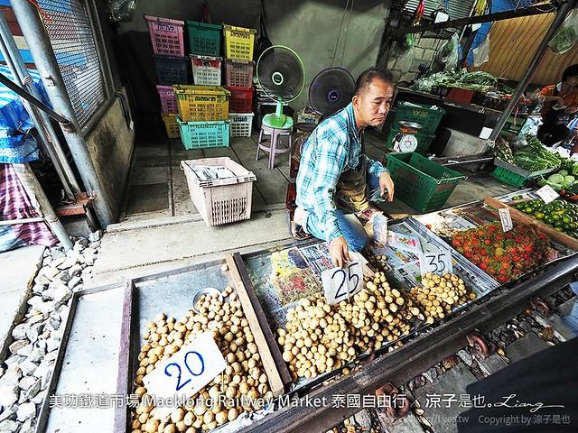 美功鐵道市場 Maeklong Railway Market 泰國自由行 52