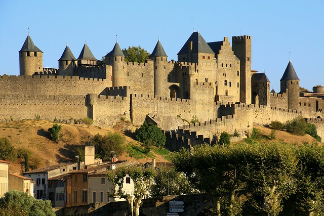 La cité de Carcassonne, France (Unesco world heritage)