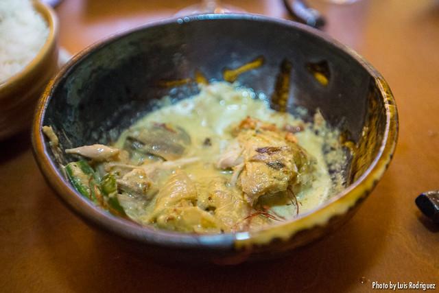 Curry verde de pollo (Asiana Nextdoor)