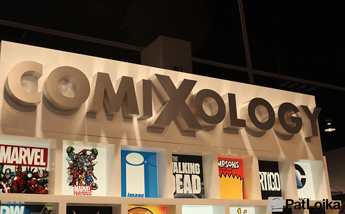 ComiXology booth!