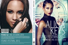 DVD Alicia Keys 2012 iTunes Festival Festival
