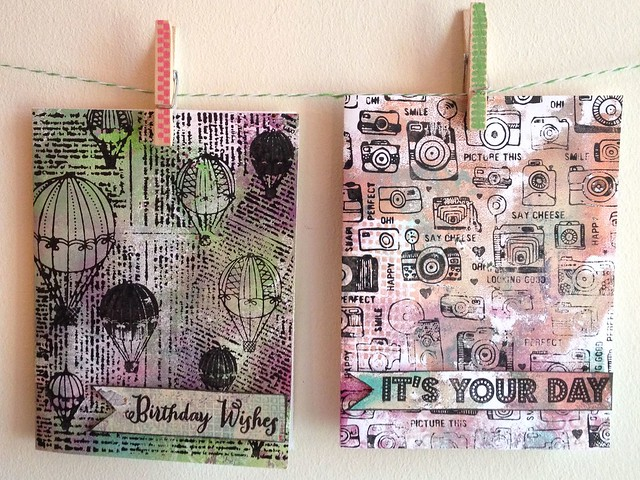 Scrap Time - Ep. 850 - Hero Arts Background Stamps