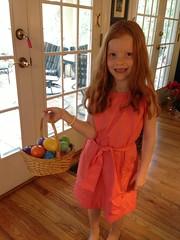 Easter egg hunting by PrincessKaryn