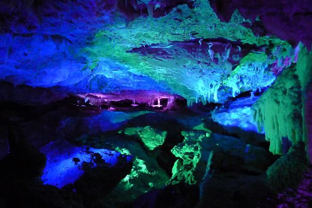 The Ngilgi Cave near Dunsbourough, WA