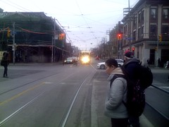 PCC streetcar at Queen West and Bathurst (2)