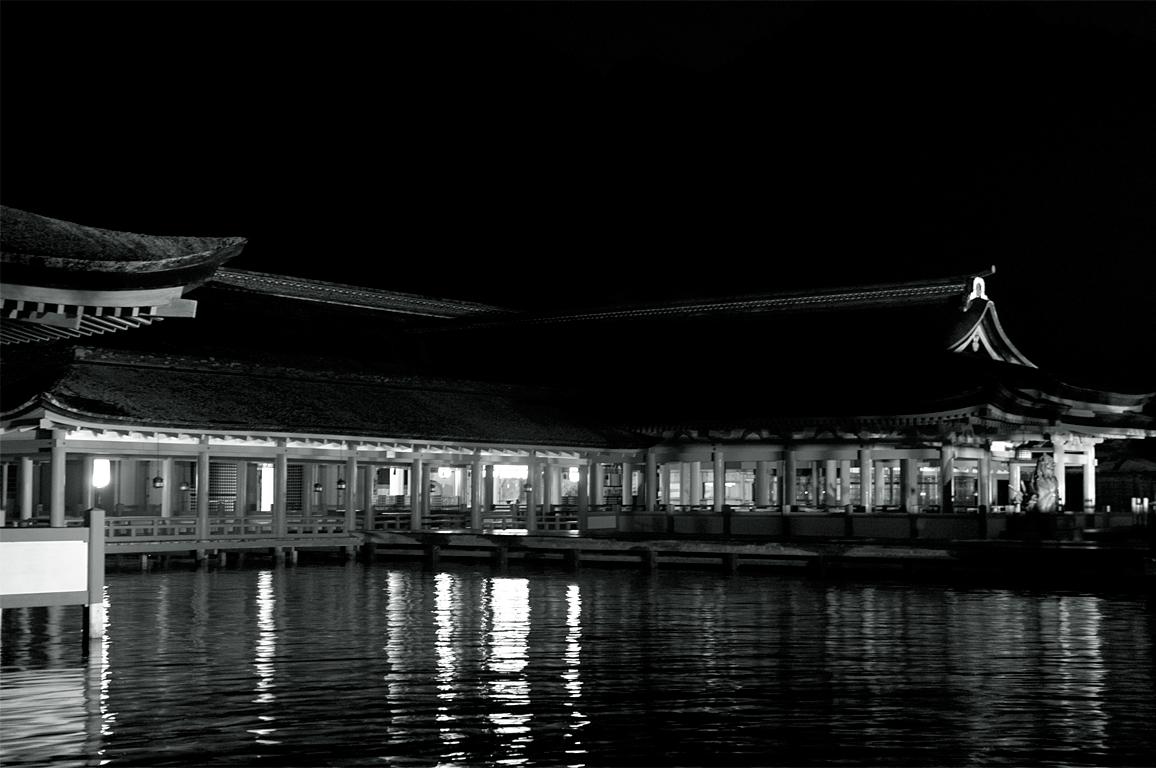 厳島神社(満潮)|宮島