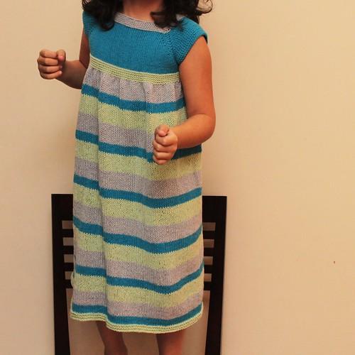 Lulu's new dress