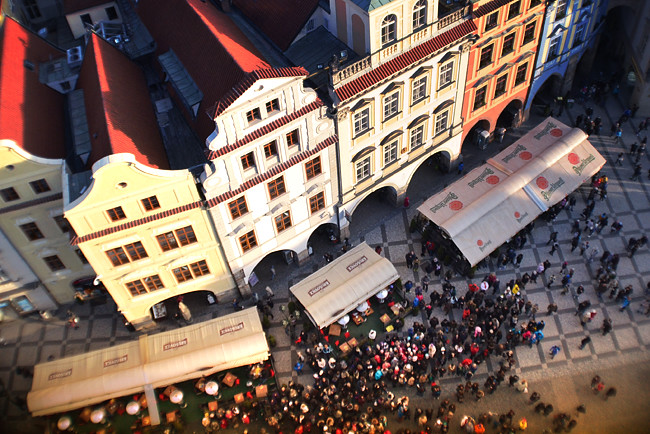 Prague Old Town From Above 4