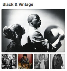 Button: Black & Vintage on Pinterest