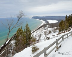 Empire Bluff Sleeping Bear Dunes National Lakeshore by Michigan Nut