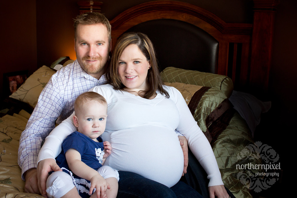 Family Maternity Session Prince George BC