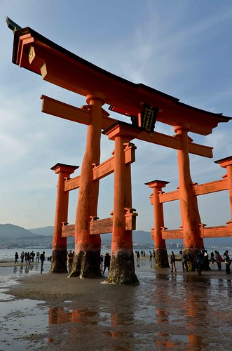 Giant Torii of Itsukushima Shrine