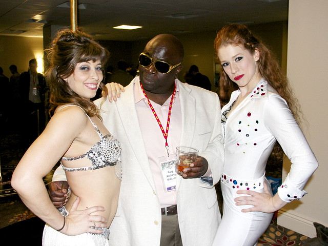 Gary Anthony Williams, LA Comedy Shorts Opening Night Party, Casino Royale With Cheese