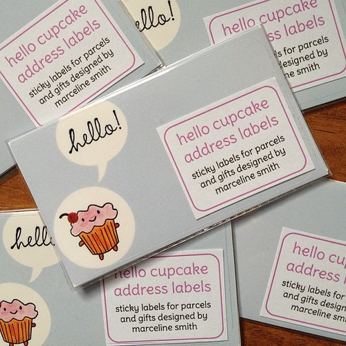 Cakeify sticky labels are new in the shop.
