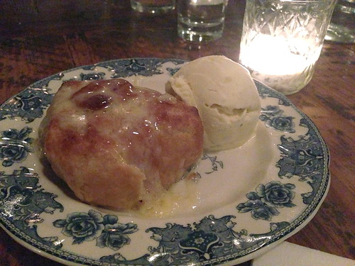 Warm Apple Dumplings and Hooks White Cheddar @ Hart and the Hunter