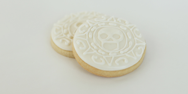 pirate coin cookies