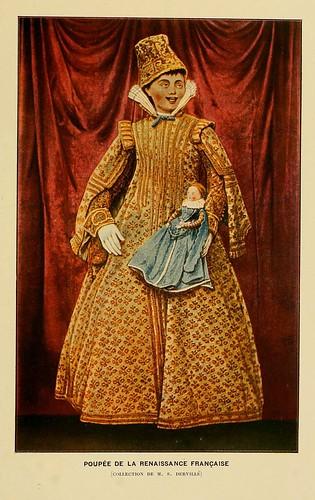 010-Muñeca del Renacimiento frances-Histoire des jouets….1902- Henry René d' Allemagne