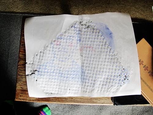 Blake's demo monoprints