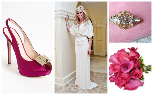 {Hot Pink Details} Bridal Style by Nina Renee Designs