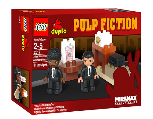 Fake LEGO DUPLO Pulp Fiction set