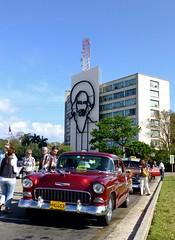 Chevrolet 1955, Plaza de la Revolución - La Habana, Cuba