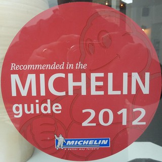 Michelin guide 2012
