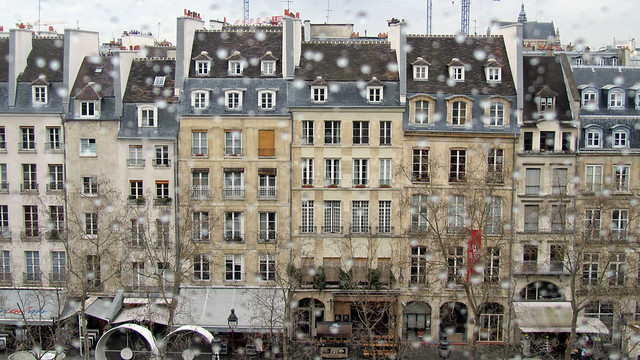 Parisian buildings
