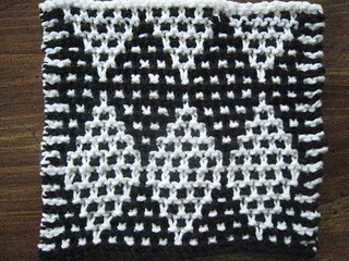 Mosaic Diamond Dishcloth