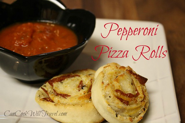 Pepperoni Pizza Rolls Can Cook Will Travel