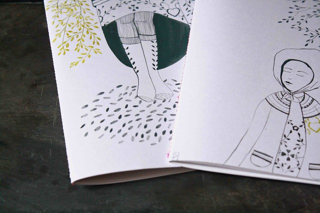 Handmade : hand illustrated notebook